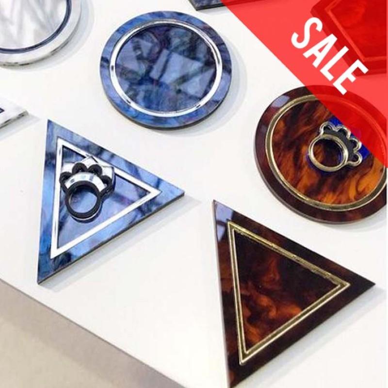 SALE Tortoise Sell Geometric Trinket Tray (Triangle) by Rosa Pietsch
