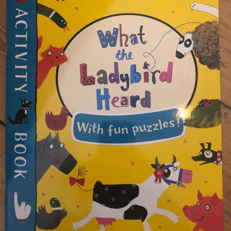 Activity book What the ladybird Heard