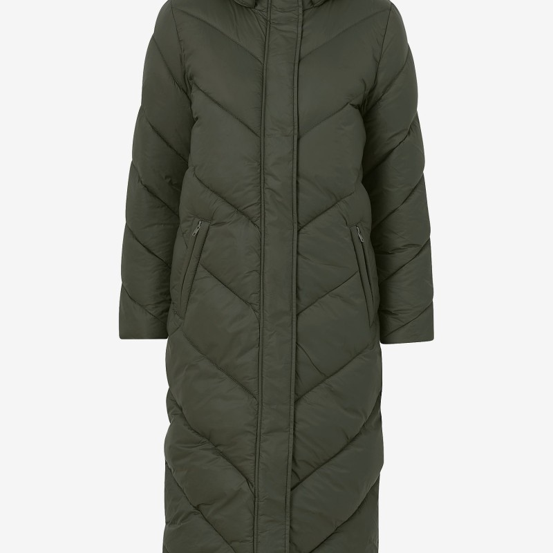 Saint Tropez Kappa Catja Long Jacket- Army green