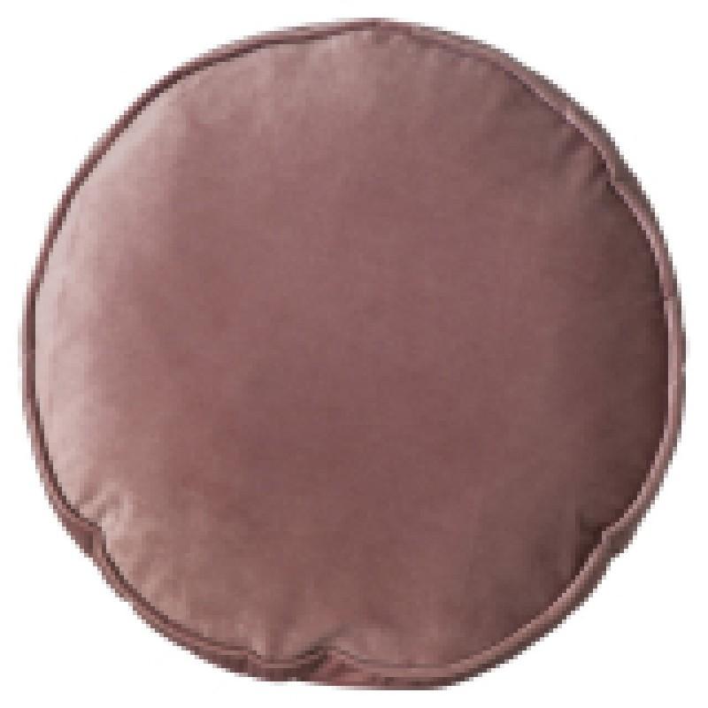 Prydnadskudde sammet rosa