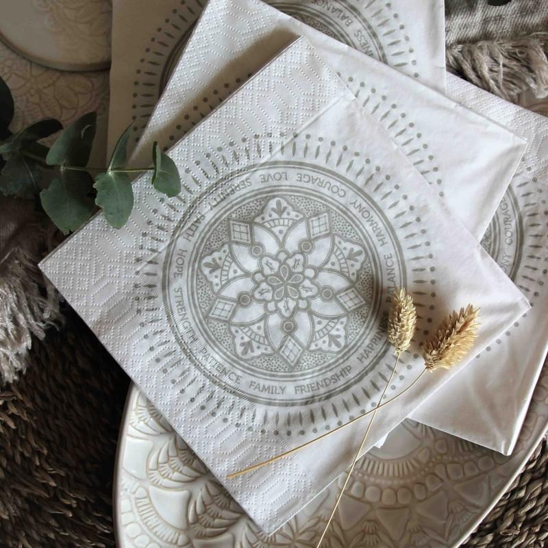 Majas emblem servetter