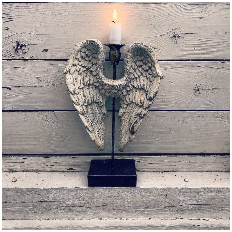 Ljusstake angelwings