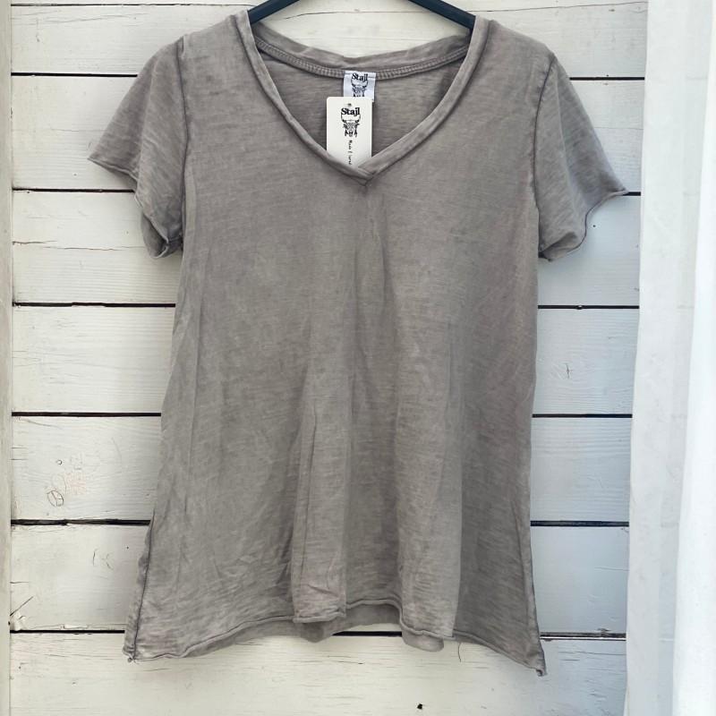 Stajl Agenturer T-shirt Taupe