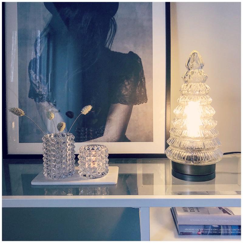 Lampa gran glas