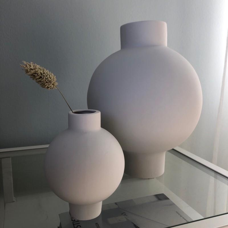 Vik keramikvas vit