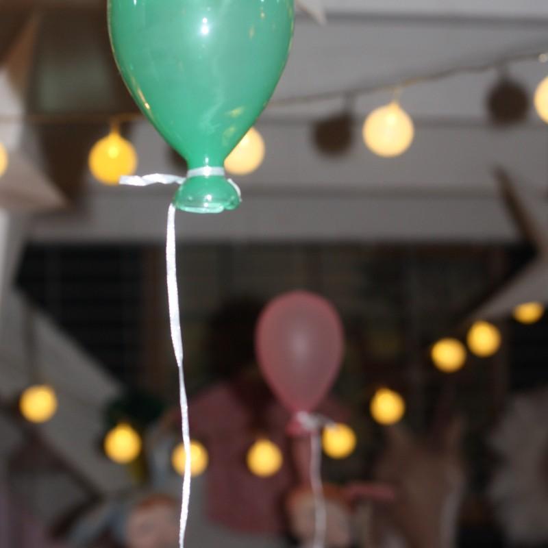 Glasballong färg