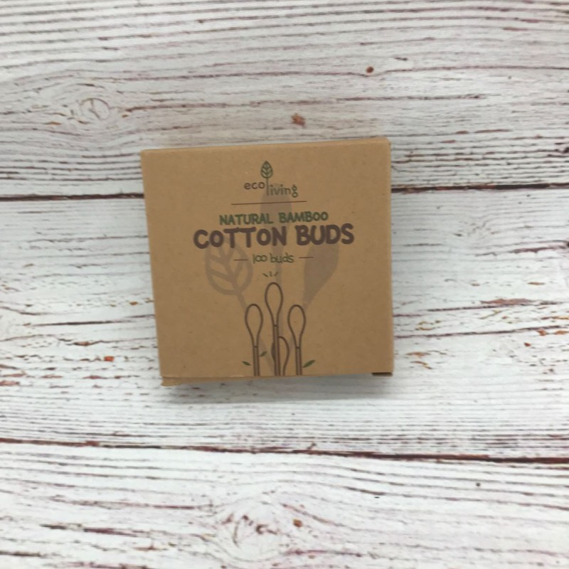 Bamboo and cotton swabs
