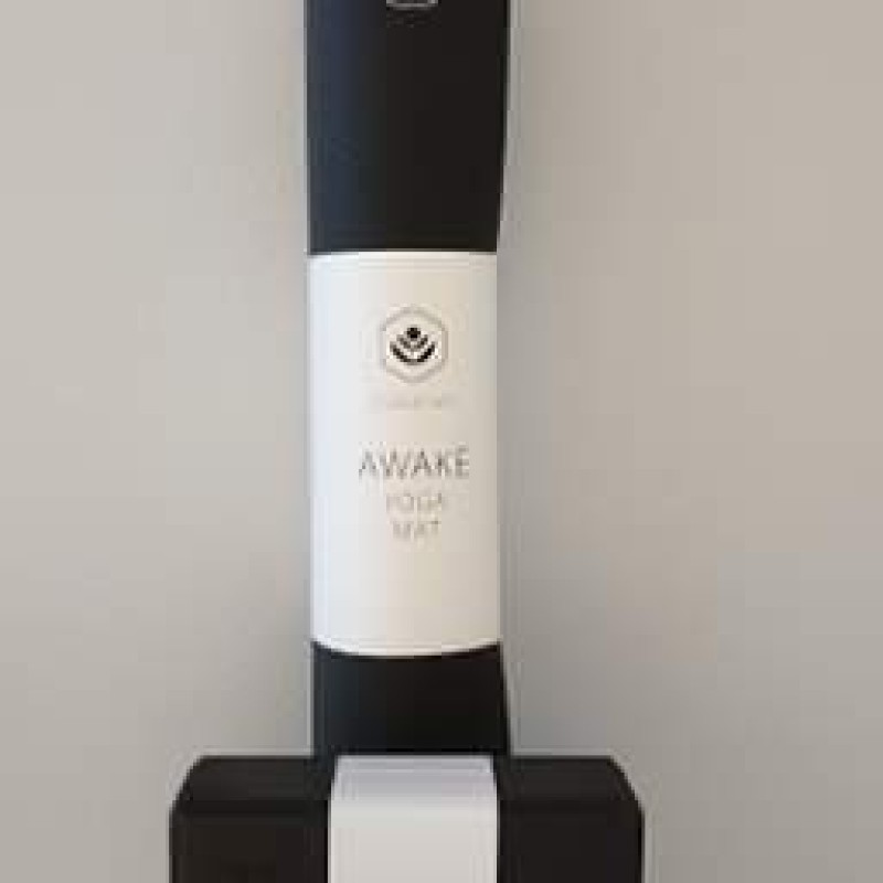 Yogamatte Awake 4mm Sort
