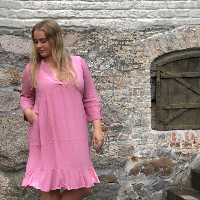 14-0620 Emma kjole Dus-rosa