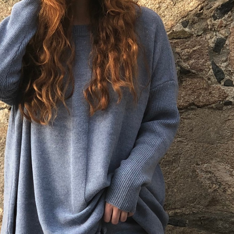 19-358 Flow strikket genser