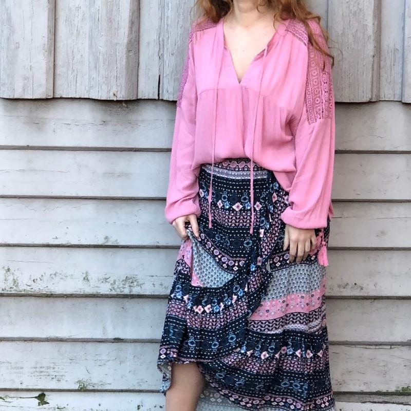 19-127 Frida maxi-skirt eccentric
