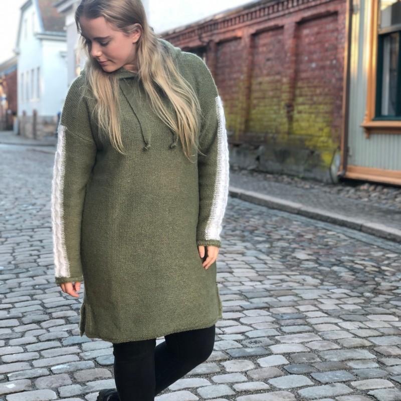 15-2520 Hedda strikket kjole grønn