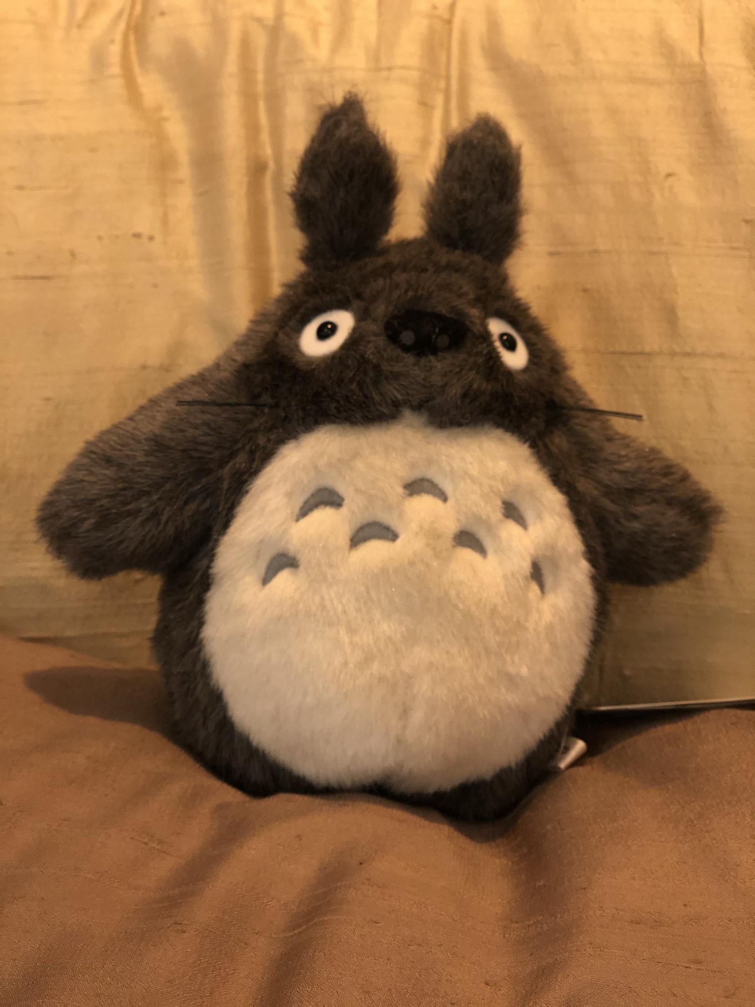 Keskikokoinen Totoro
