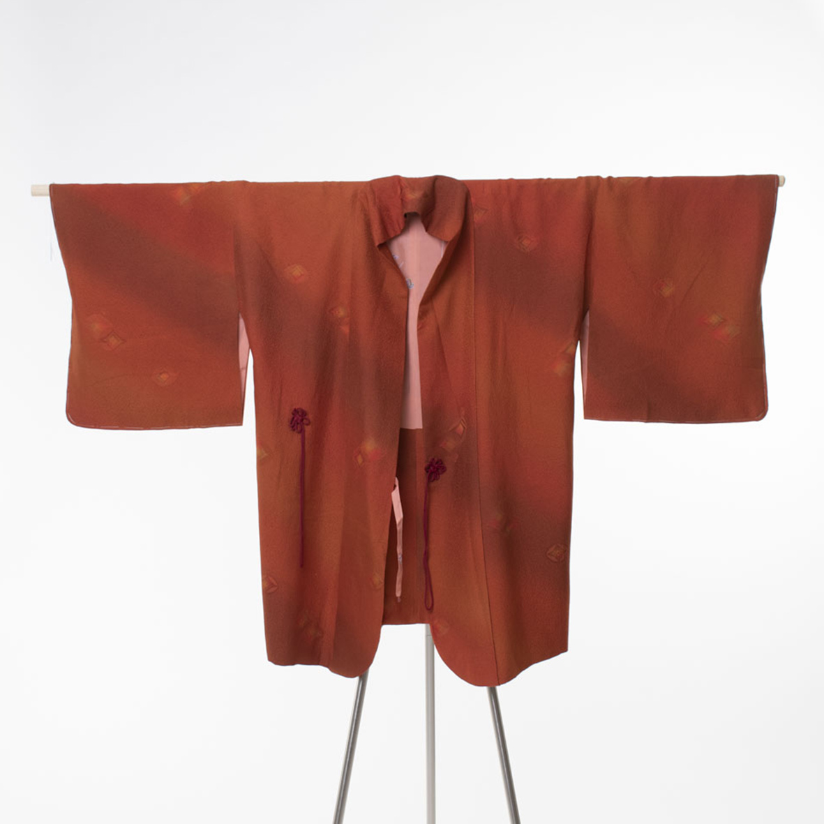 Ruosteenpunainen vintagehaori/dochugi