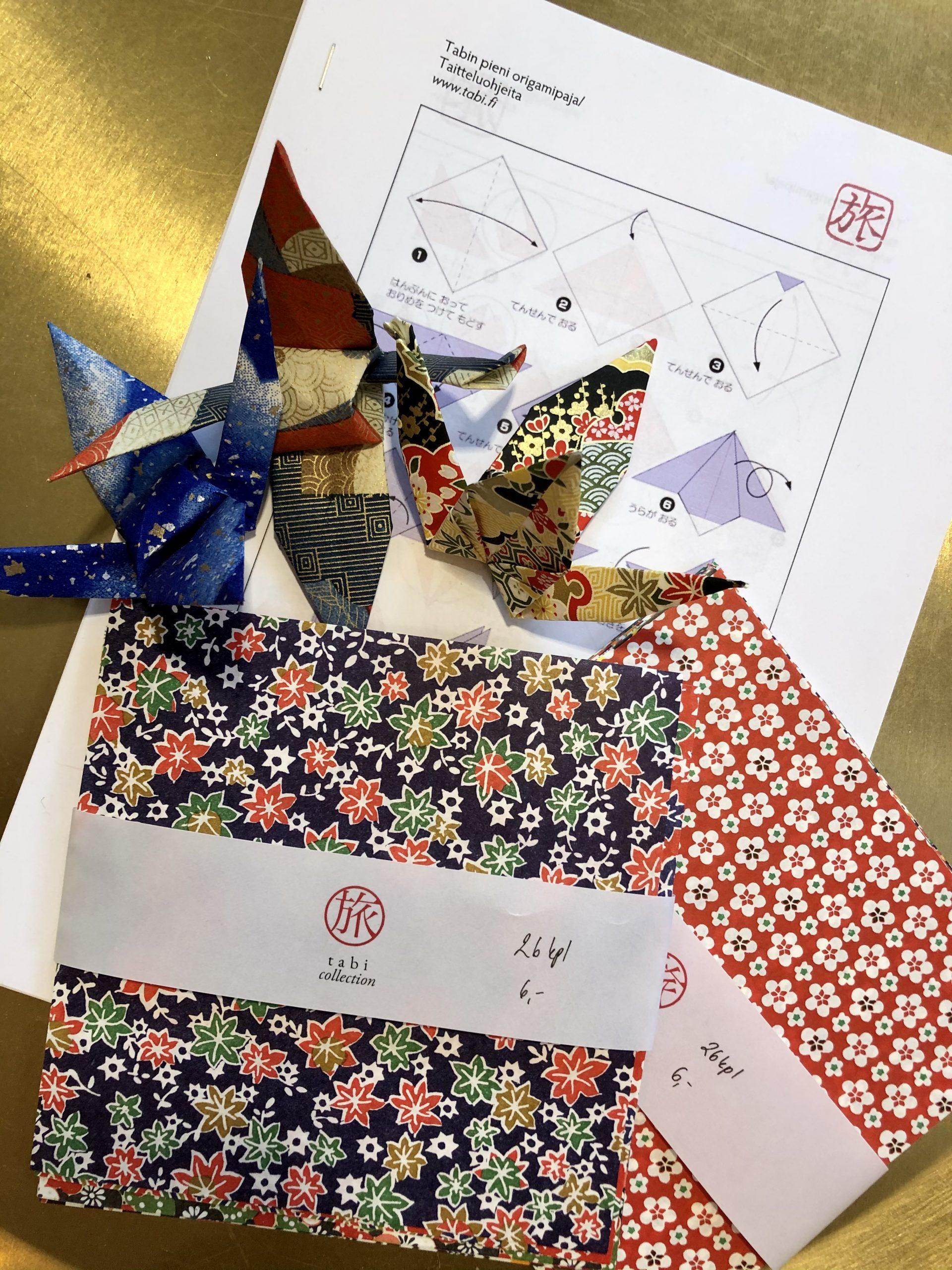 Origamipaperi 26 arkkia