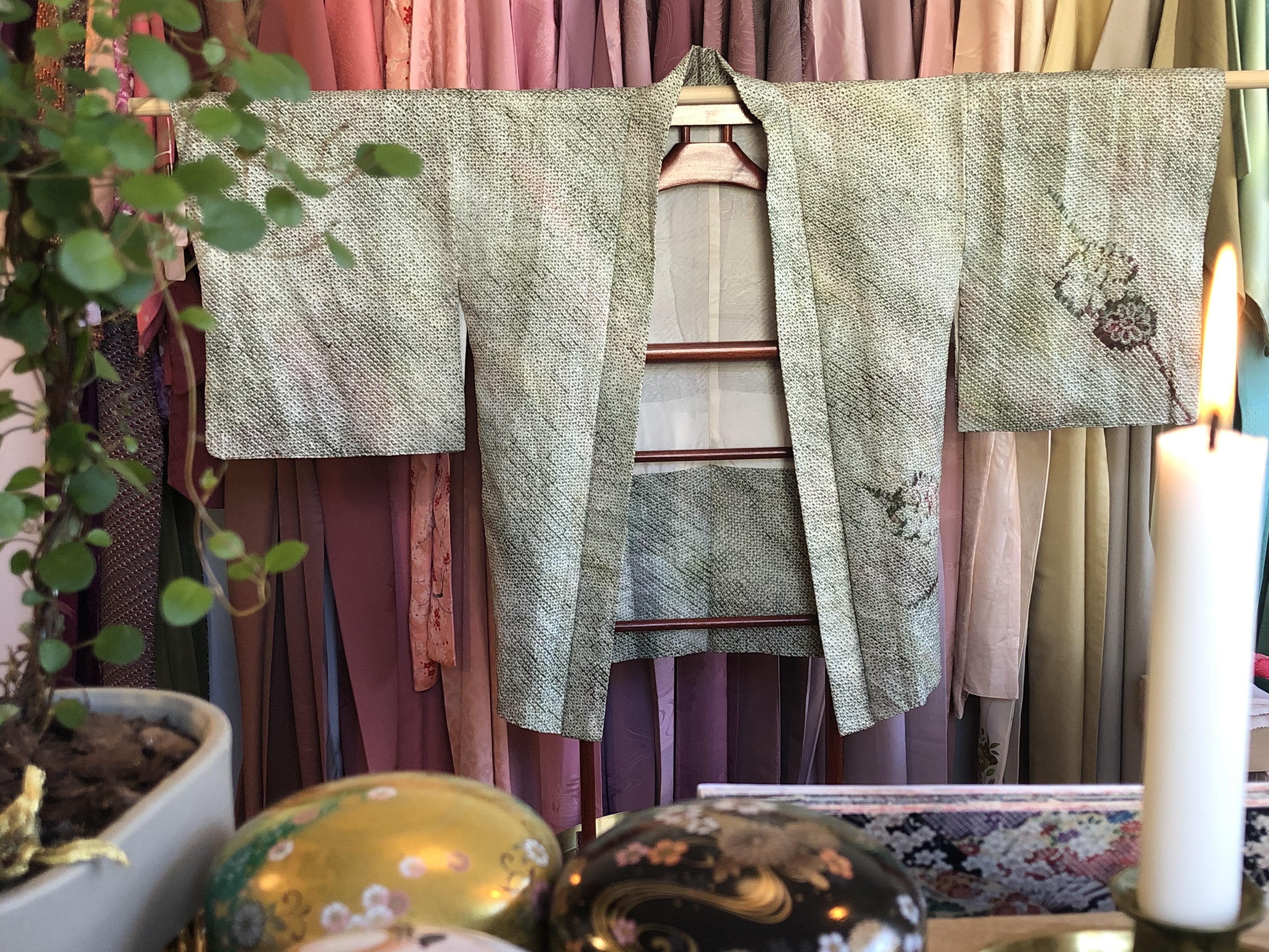 Vihreä vintagehaori #31