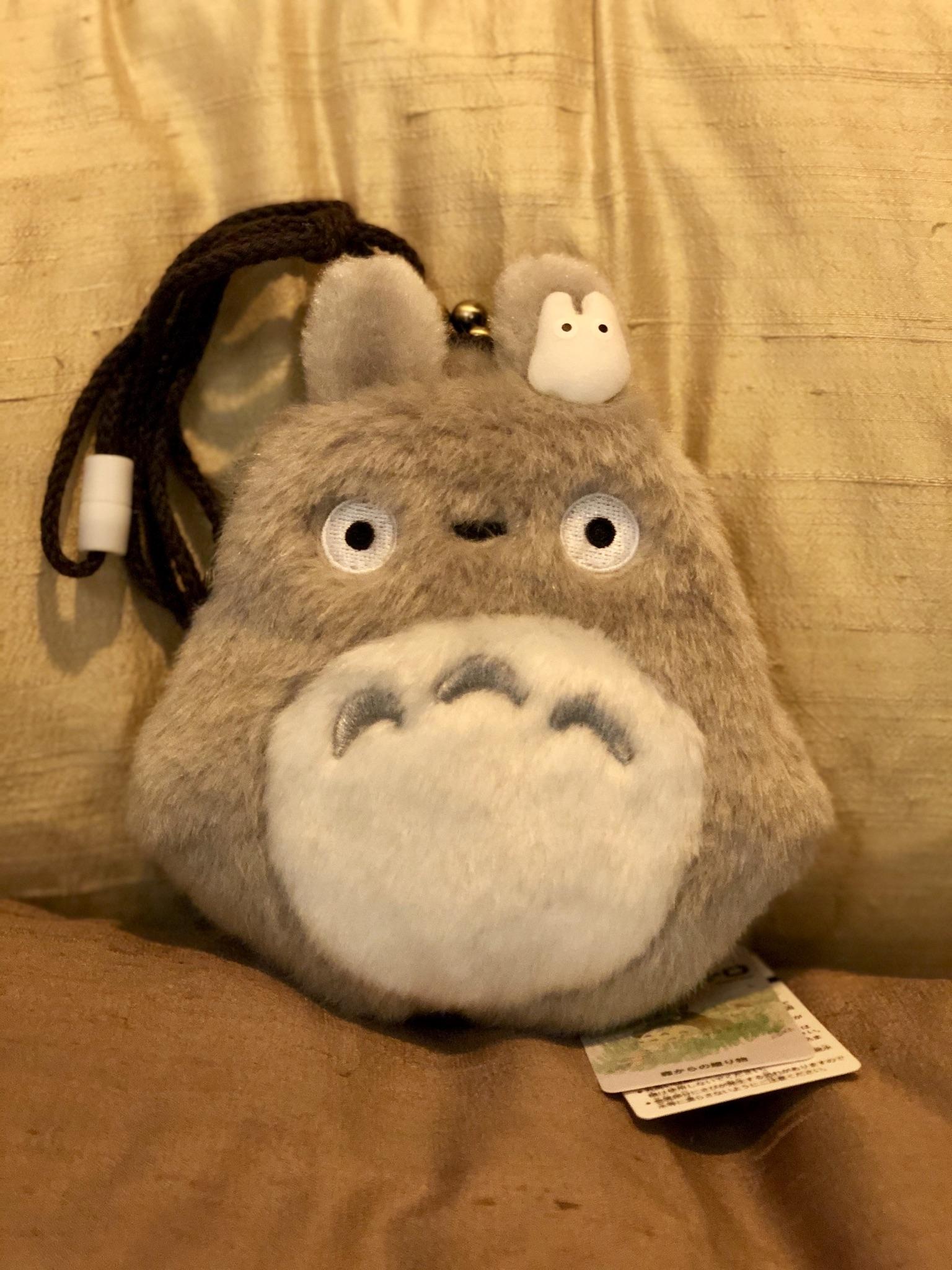 Totoro-kukkaro nyörillä