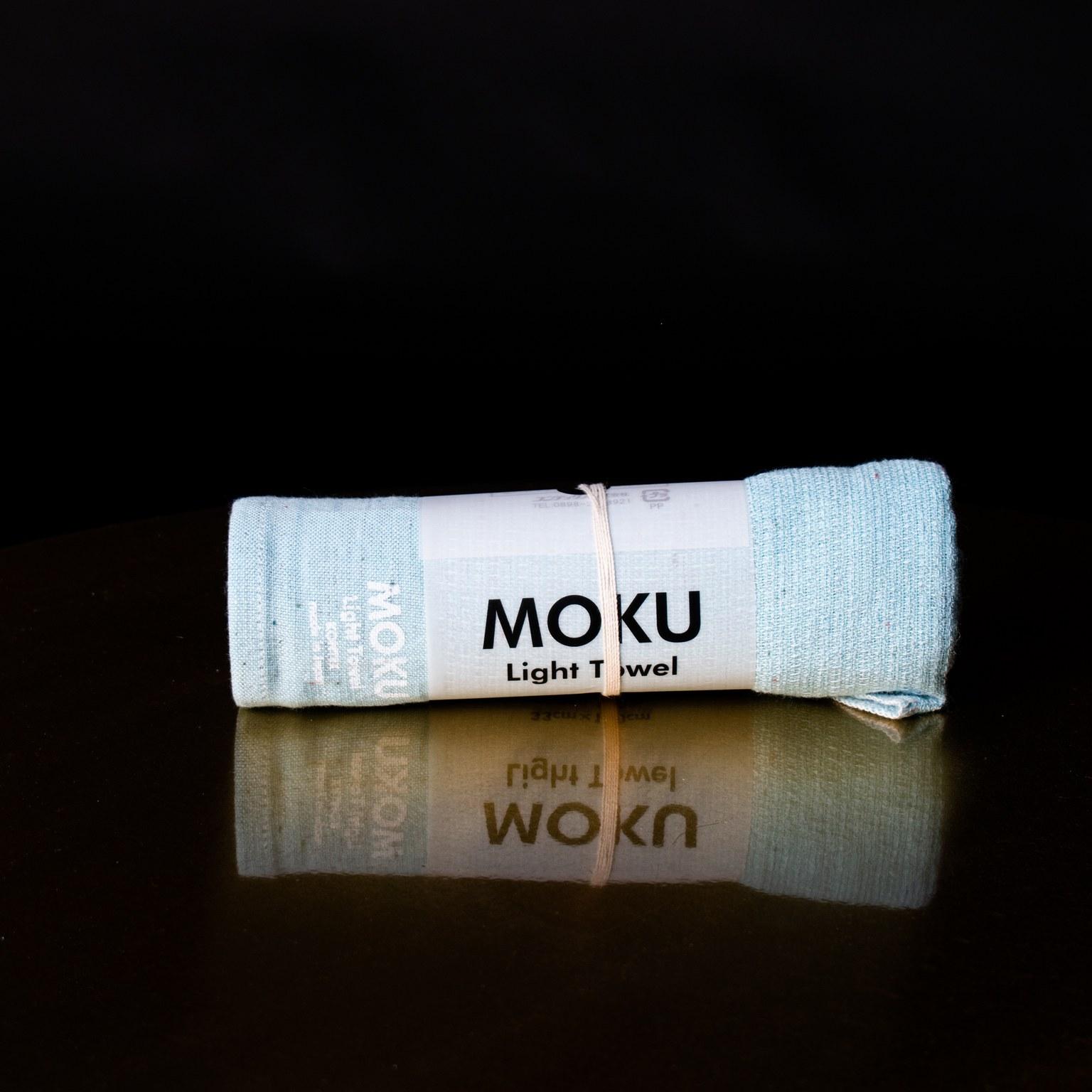 Pieni aqua moku-pyyhe