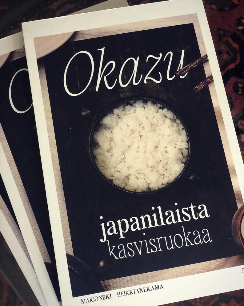 Heikki Valkama & Marjo Seki: Okazu–japanilaista kasvisruok