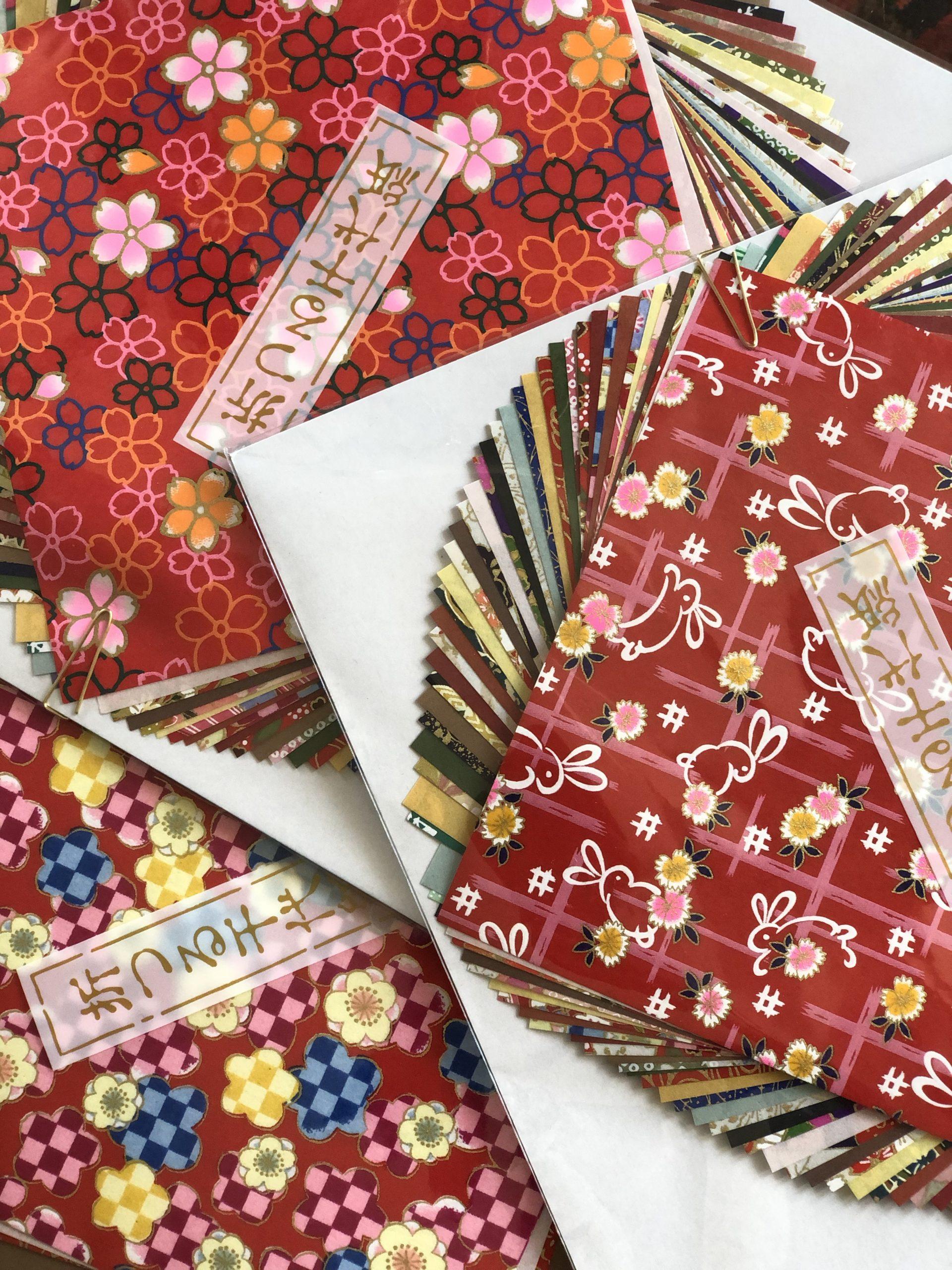 Perinteinen origamipaperi
