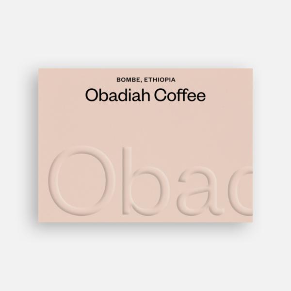 Bombe washed Ethiopia - Obadiah Coffee | 250g