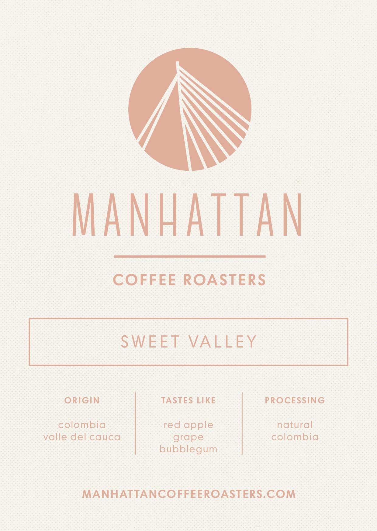 Sweet Valley Espresso - Colombia   250g