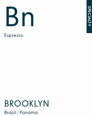 Brooklyn Espresso - Brazil / Panama | 250g