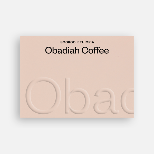 Sookoo Ethiopia - Obadiah Coffee | 250g