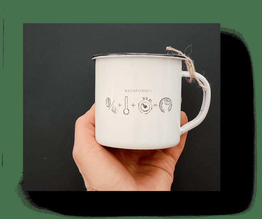 coffee nerd mug - Brühformel