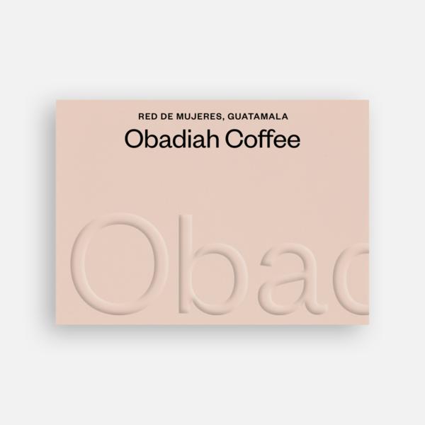 Red de Mujeres Guatemala - Obadiah Coffee | 250g