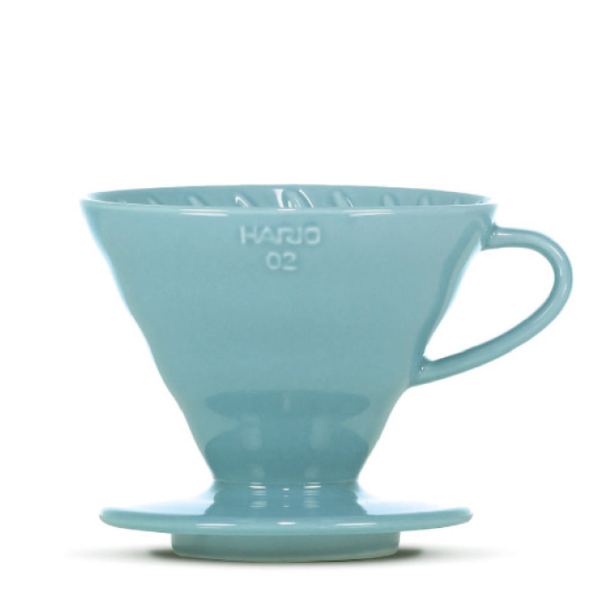Hario V60 Ceramic Dripper 02 blue