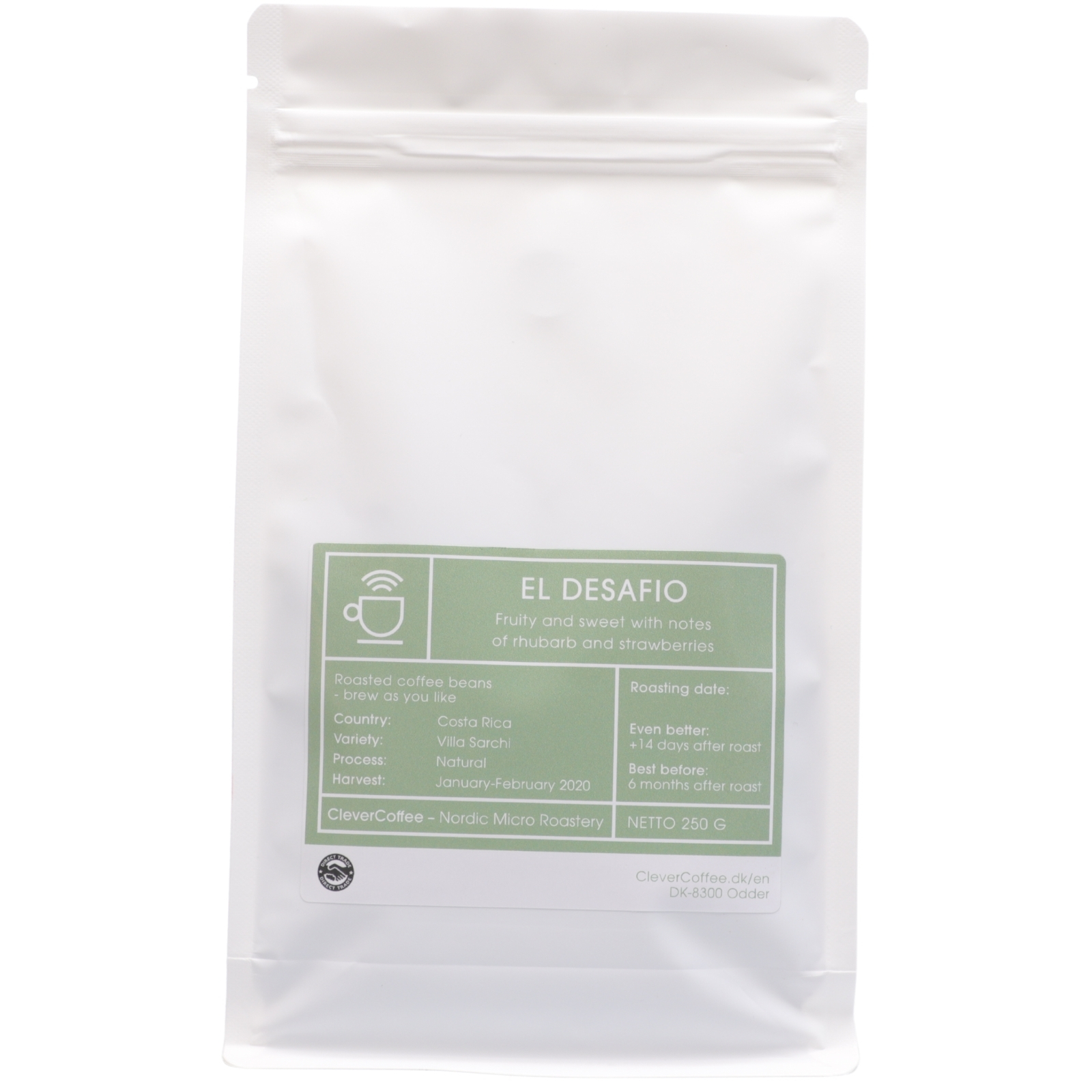 El Desafio natural - Costa Rica, Clever Coffee | 250g