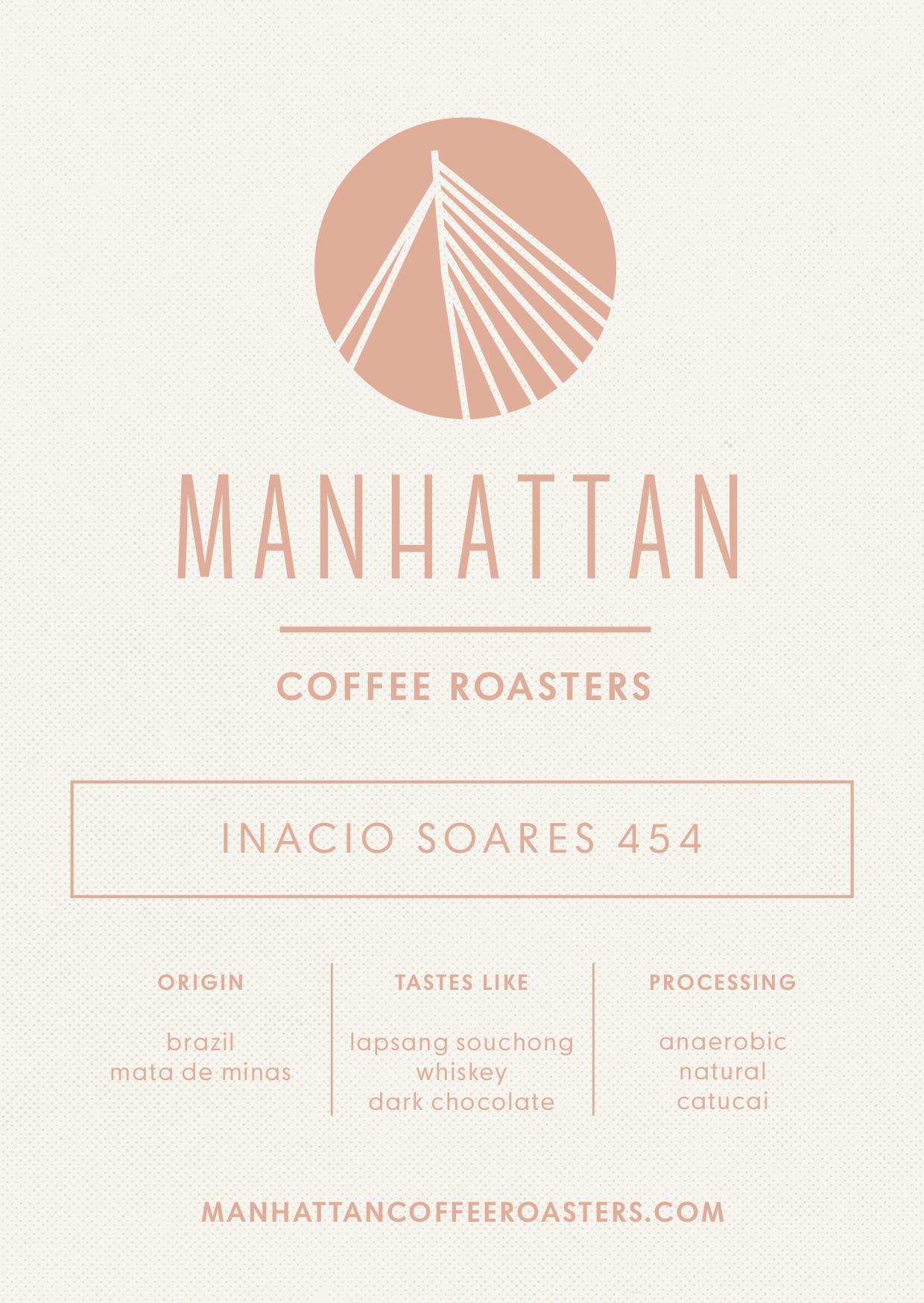 Inacio Soares 454 Espresso - Brazil   250g