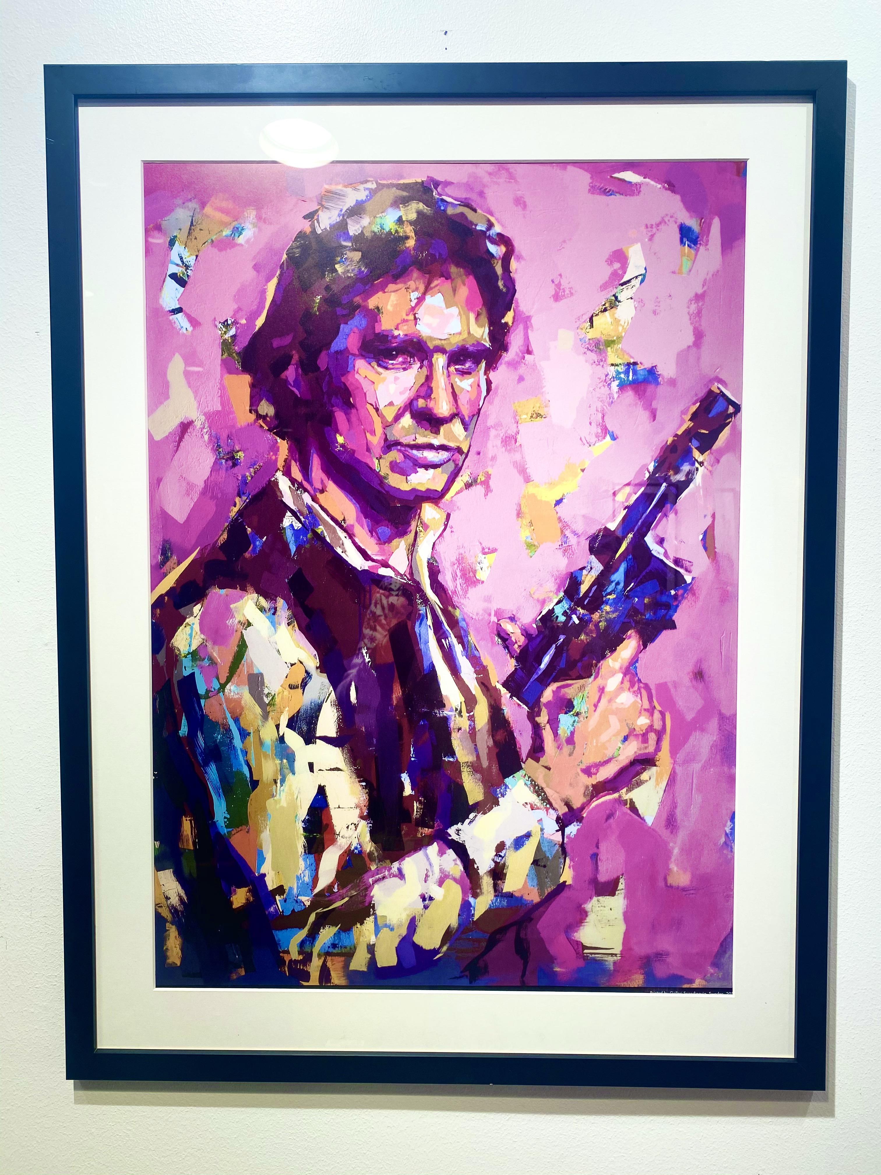 """Han Solo"" Limited Edition av LEG 50x70 cm"
