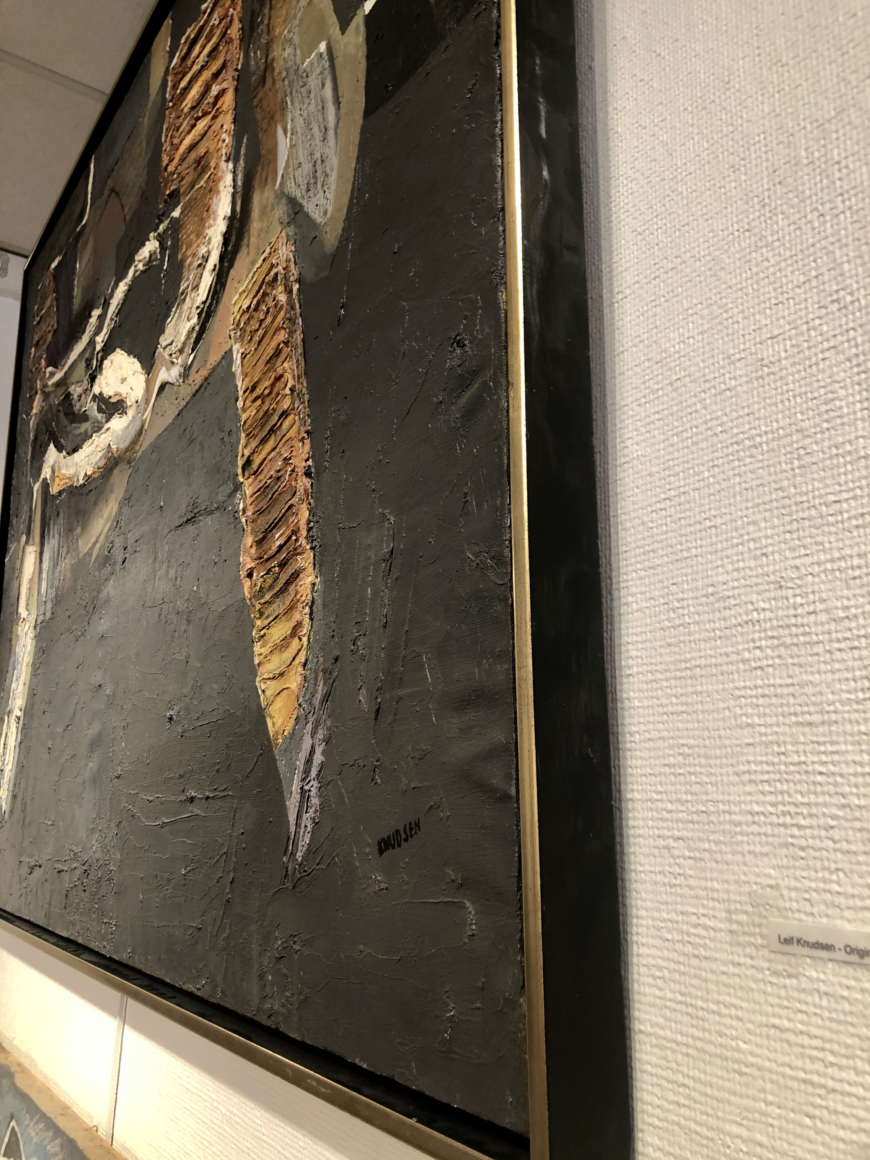 Leif Knudsen - Originalmålning. 135x107cm