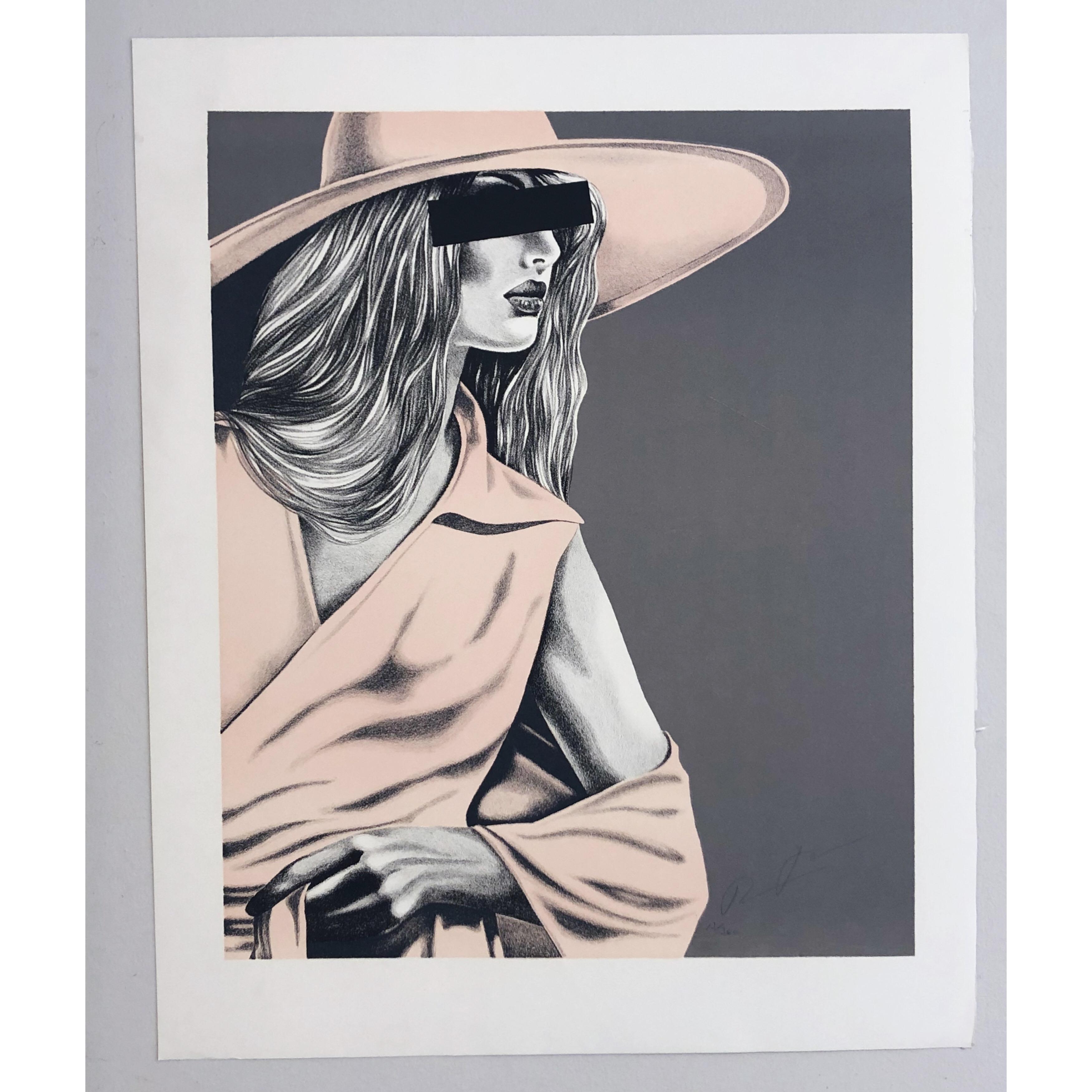 """Mrs X"" Art Giclée by Thomas Hafström. 60 x 73,5 cm"