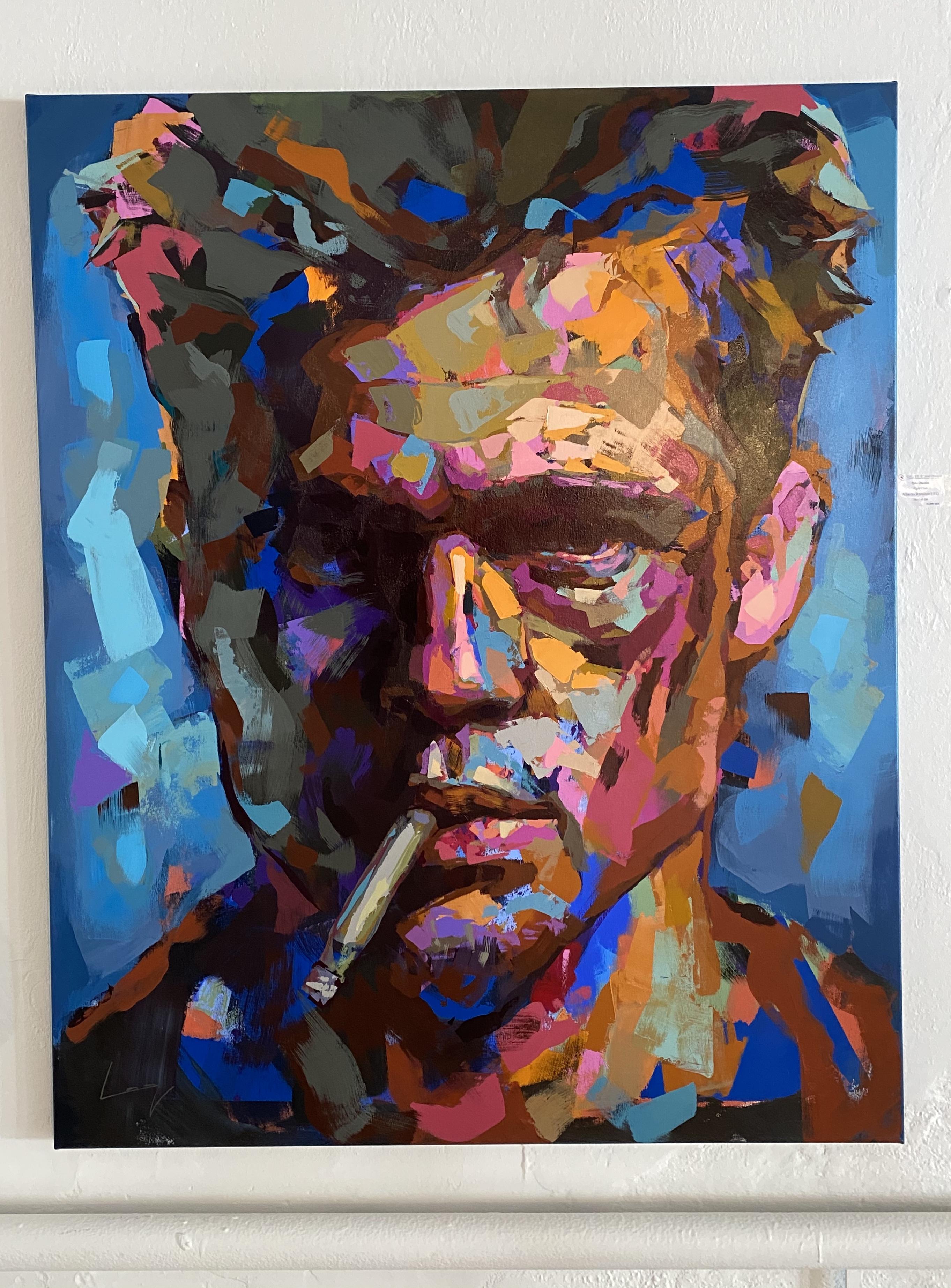"""Tyler Durden"" Akryl av Alberto Ramirez LEG. 160x140cm"