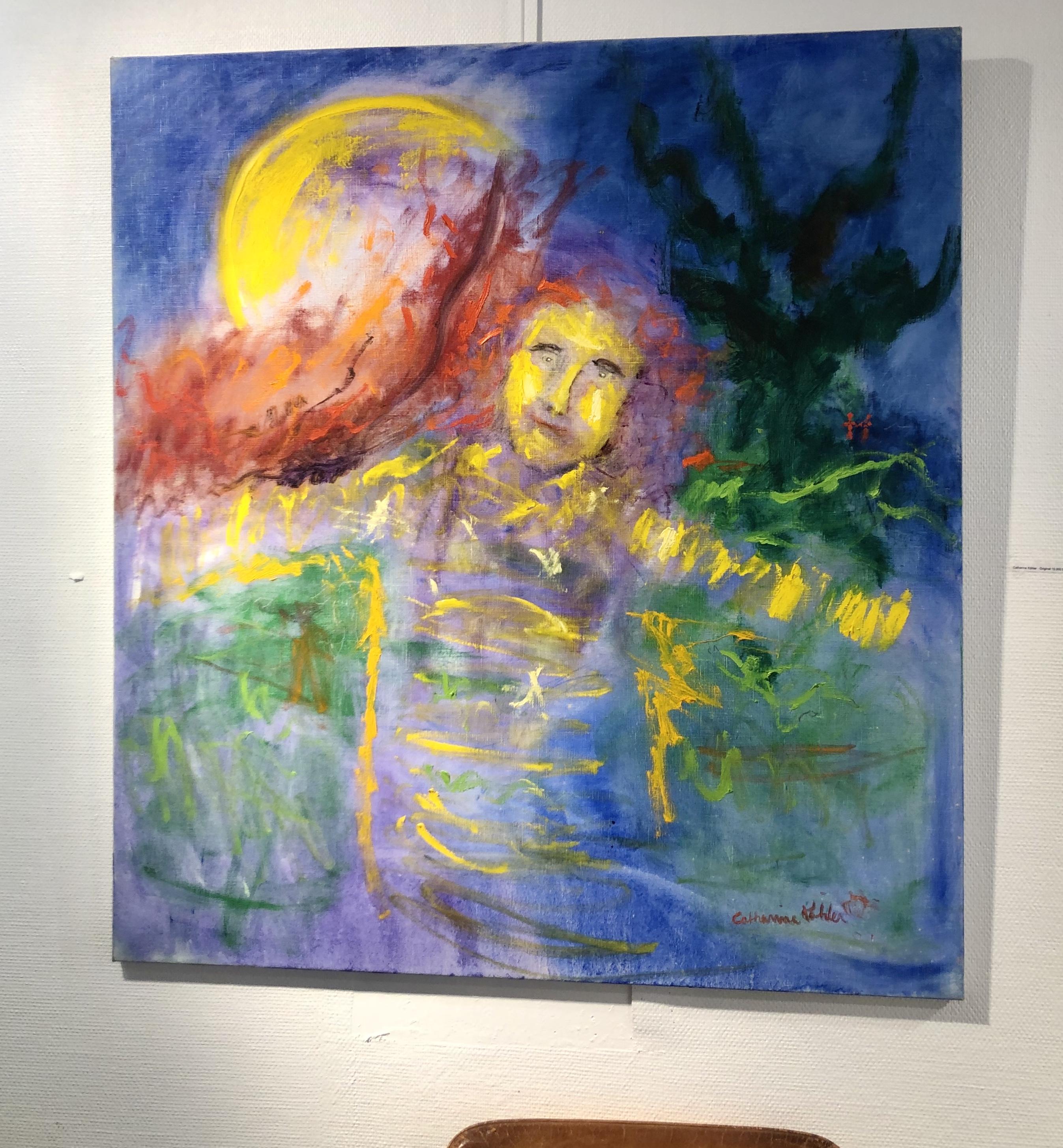 Catharina Köhler - Original på duk. 110x120 cm