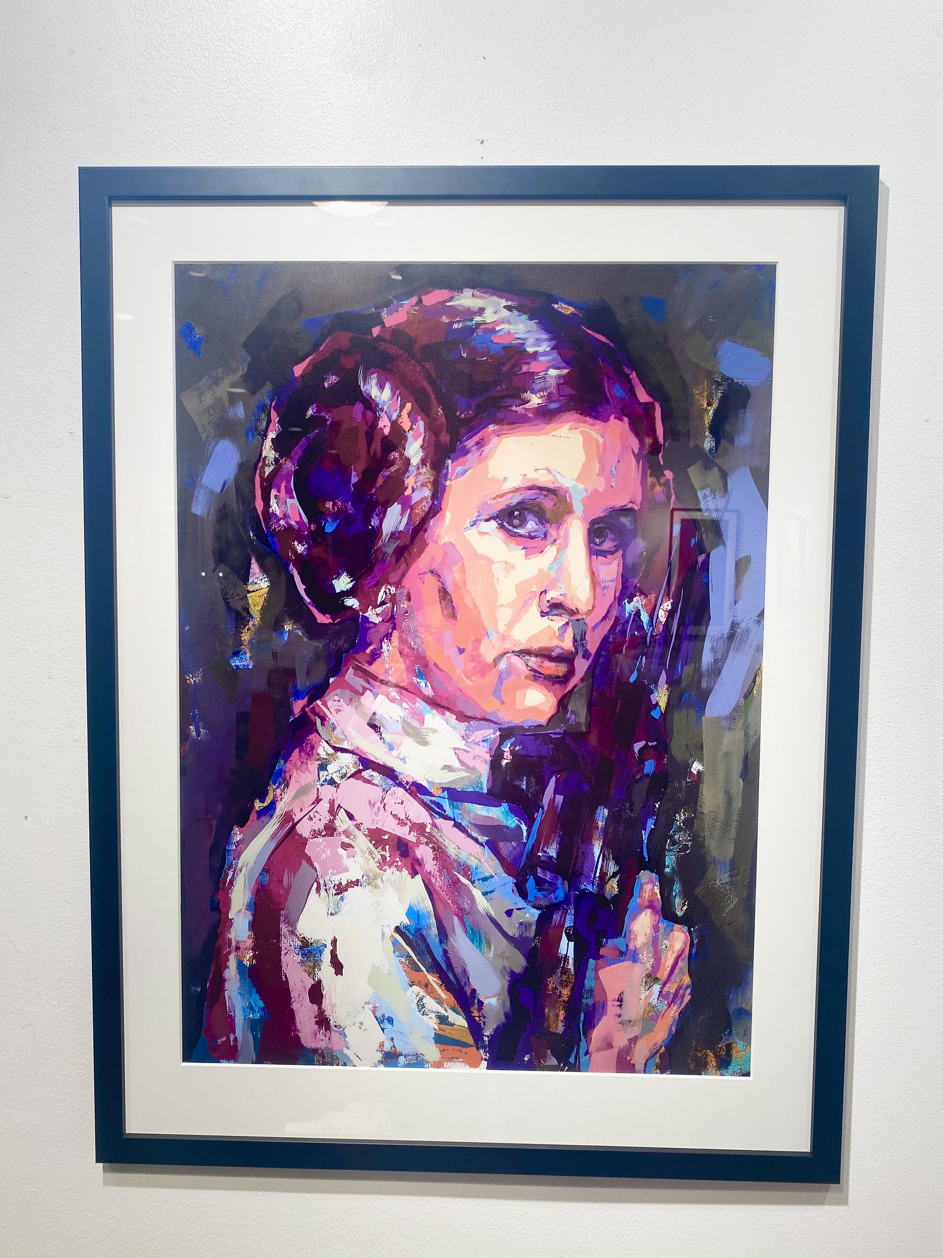 """Leia"" Limited Edition by LEG 50x70 cm"