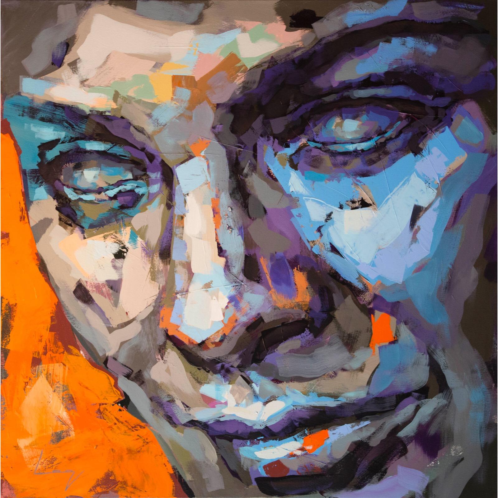 Ingrid Thulin (Smultronstället) 100x100 cm by Alberto Ramirez LEG (Bergman)