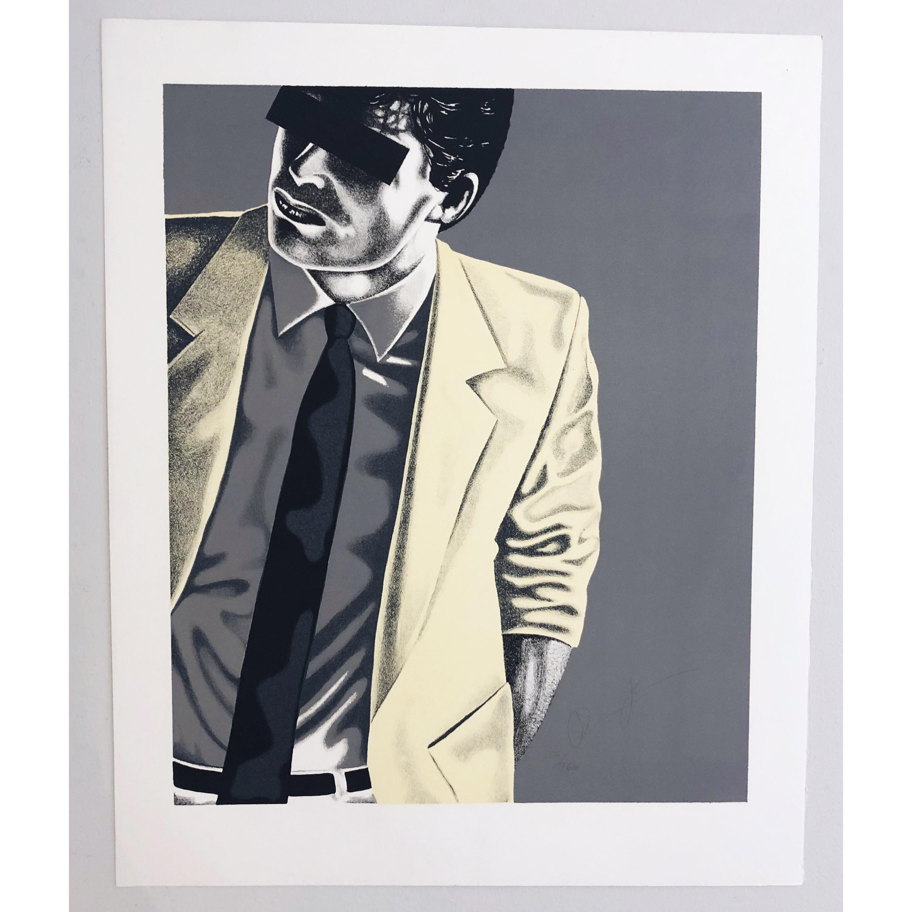 """""""MR X"""" Art Giclée by Thomas Hafström MR X. 60 x 73,5 cm"""