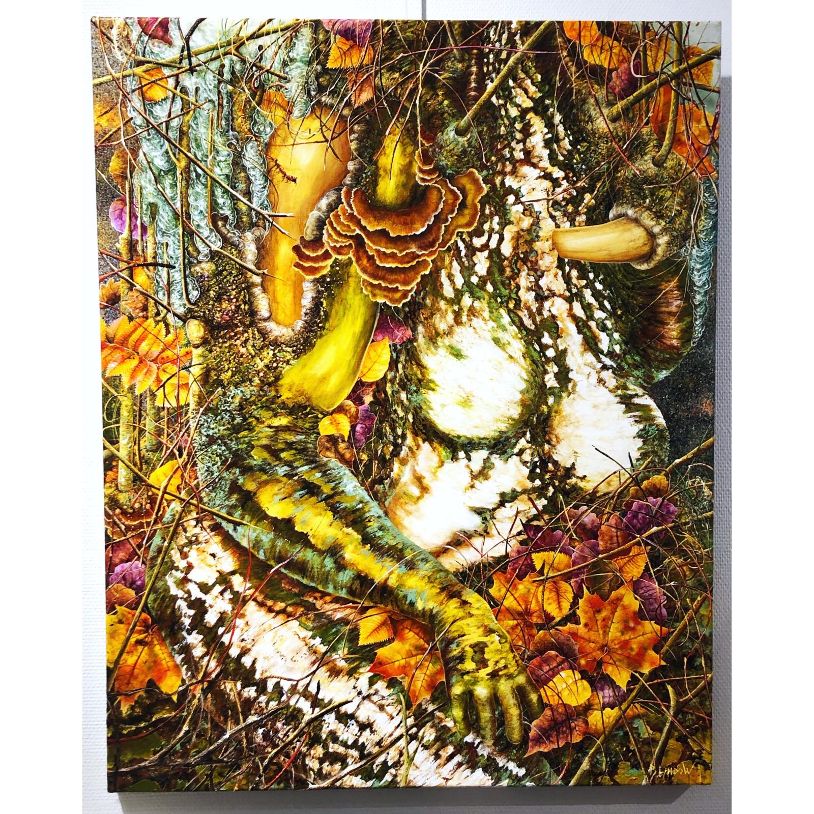 """""""Sensual Trolls"""" Acrylics on canvas by Björn Lindow. 100x80 cm"""