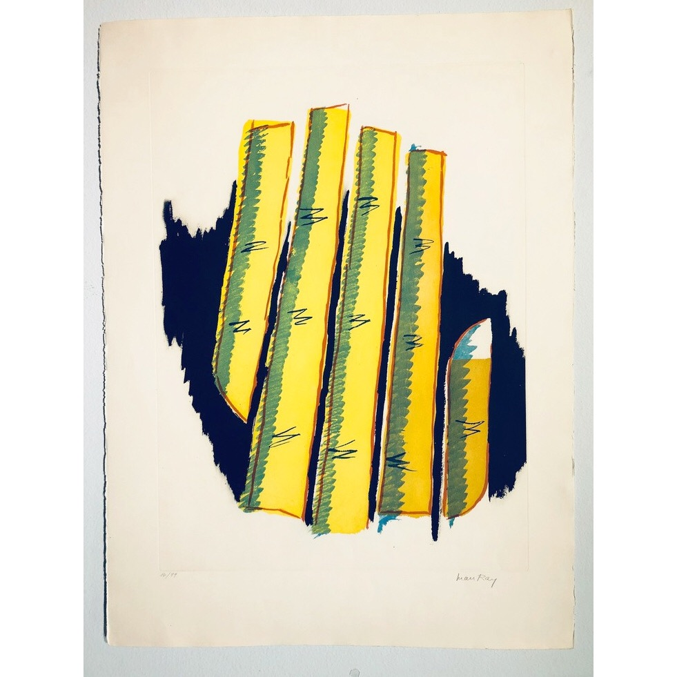 """""""No title"""" Lithograph by Man Ray. 57 x 76 cm"""