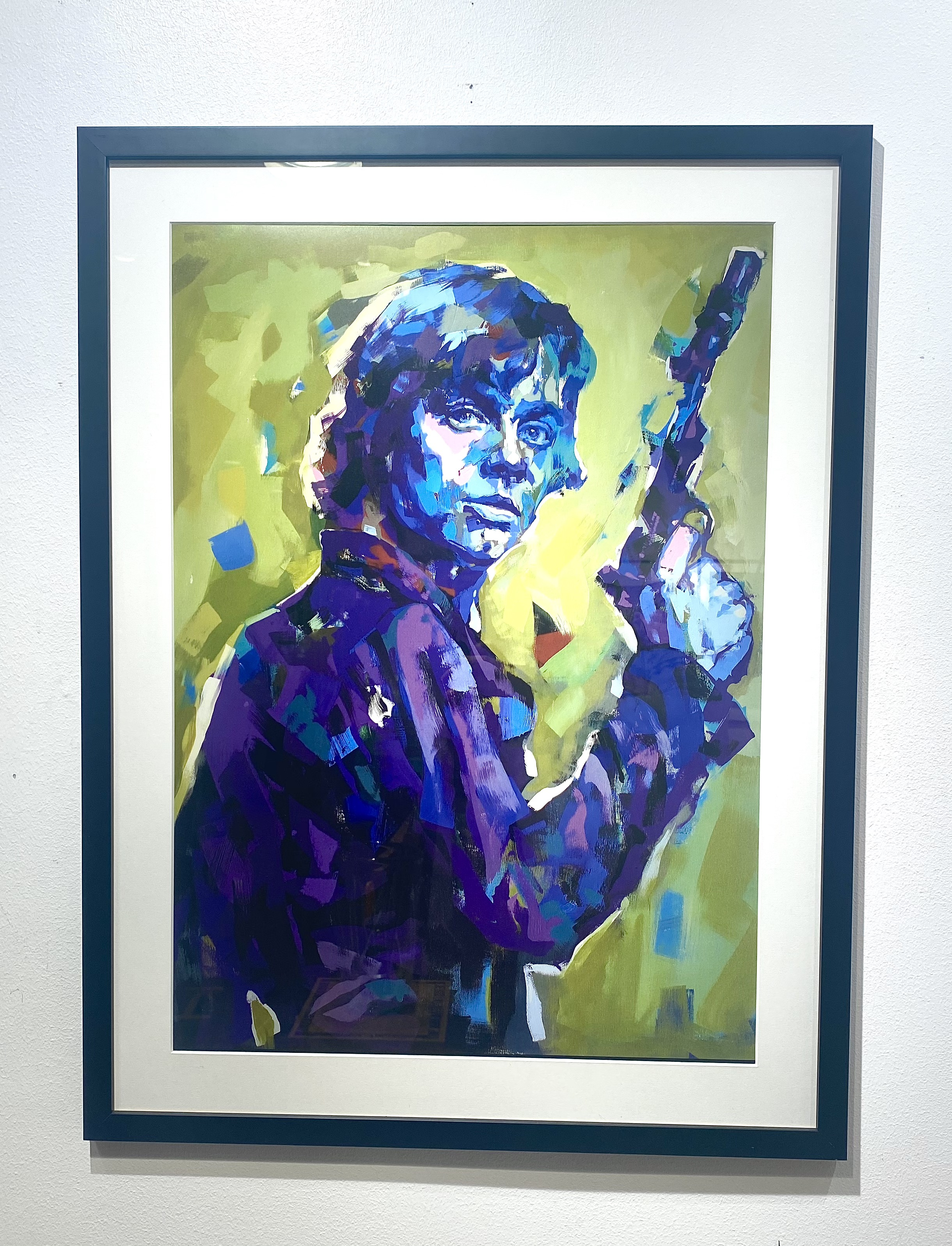 """Luke Skywalker"" Limited Edition av LEG 50x70 cm"