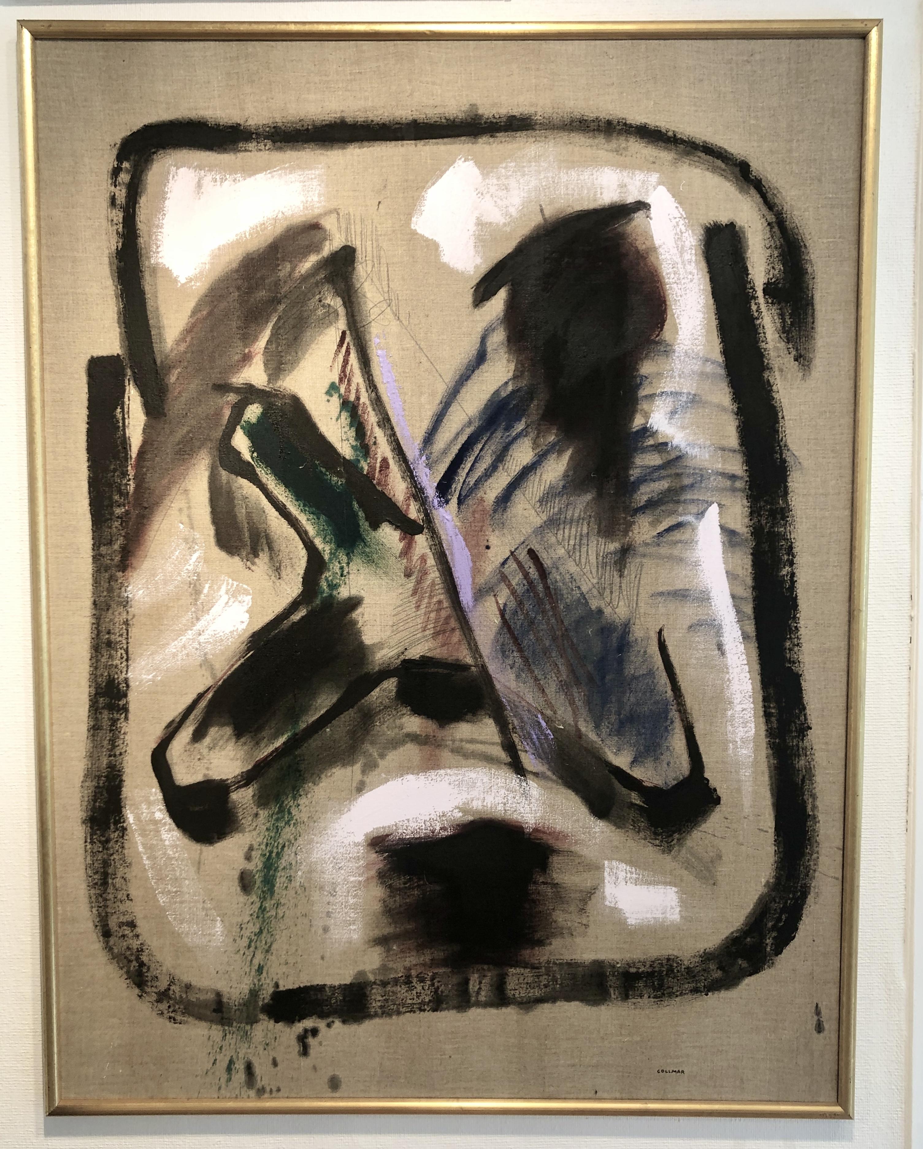 Bengt Collmar - Original på duk 101x131 cm