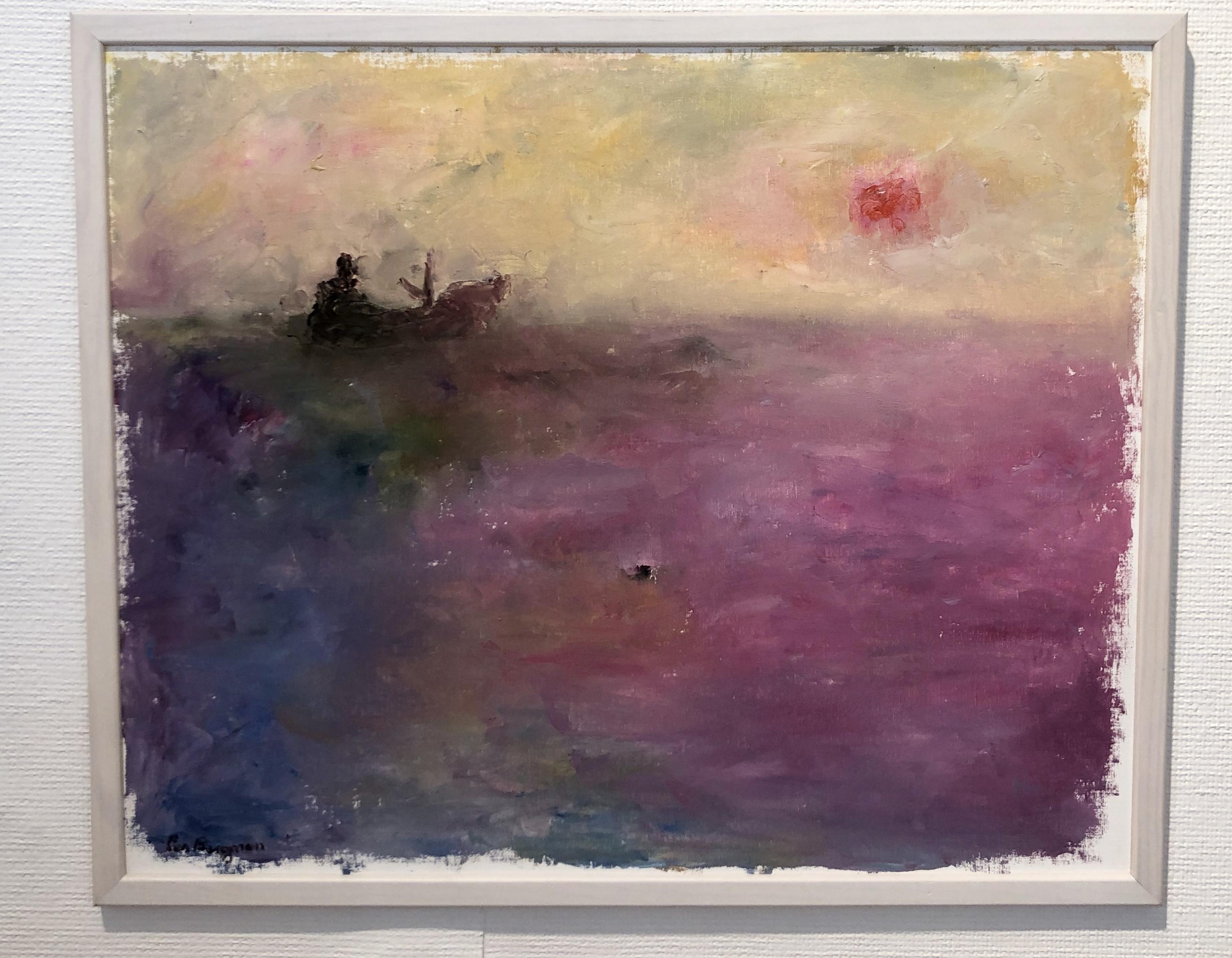 Per Bergman - Original på duk 64x63 cm