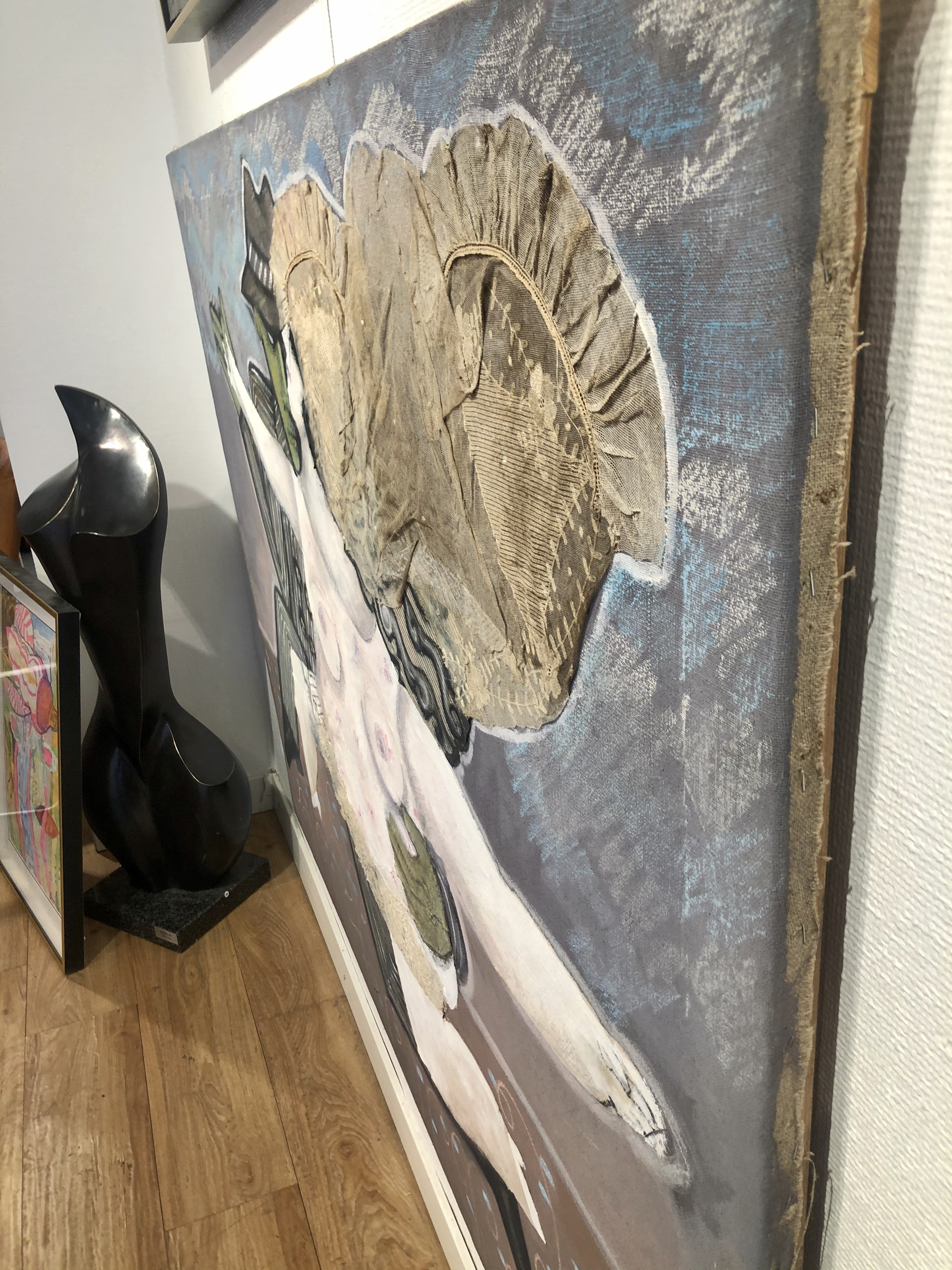 Irene B. Originalmålning 146x114 cm