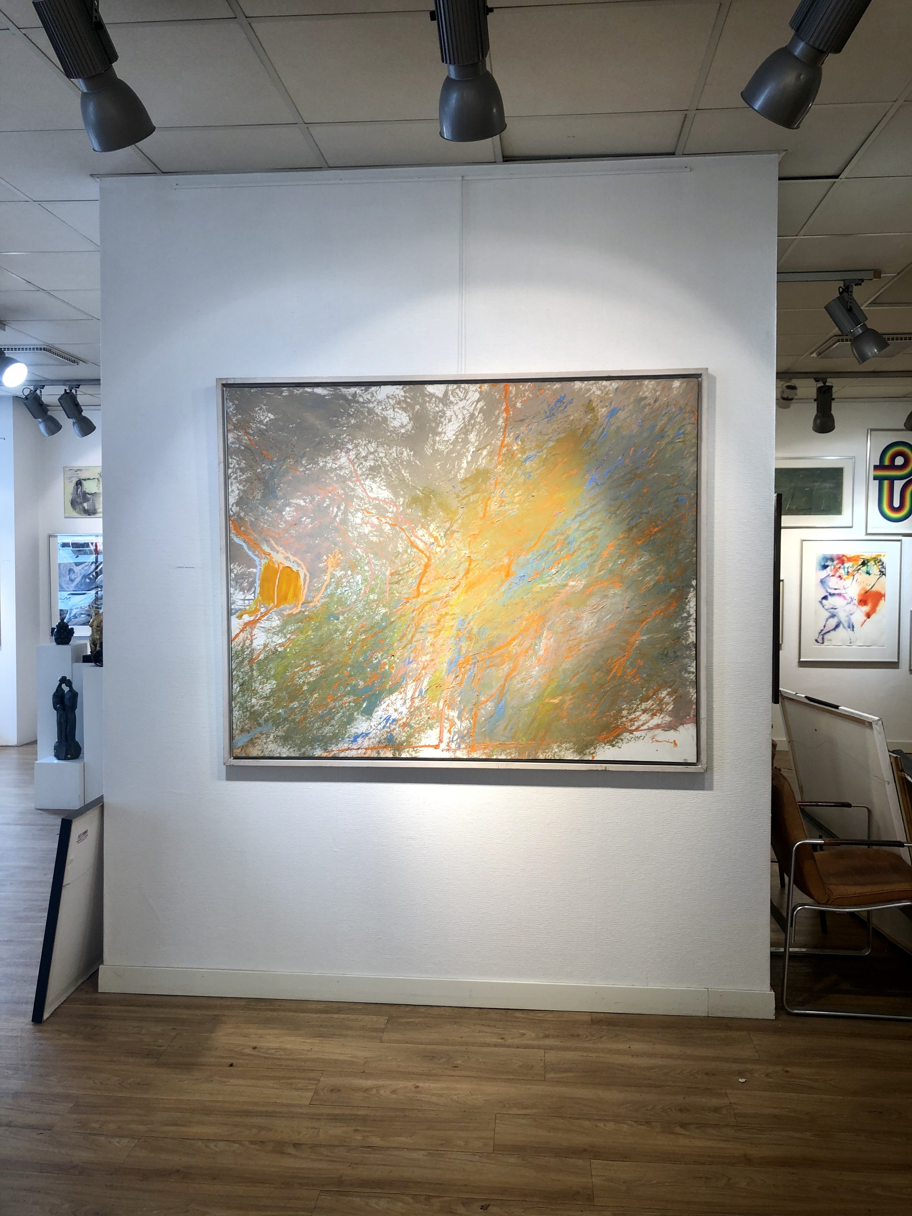 Jan Stenvinkel - Olja på duk. 168x130 cm