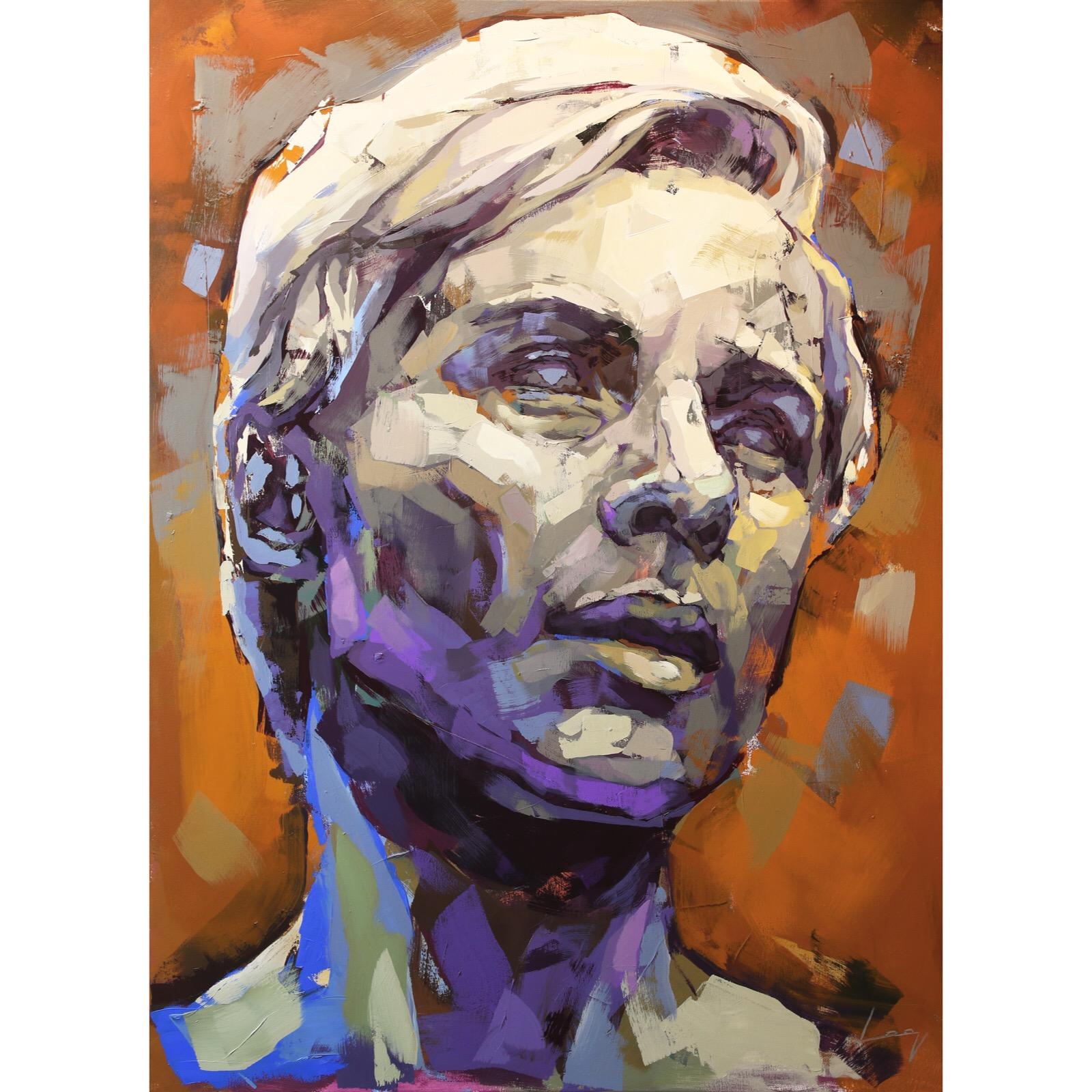 Bibi Andersson (Persona) 150x110 cm by Alberto Ramirez LEG (Bergman)