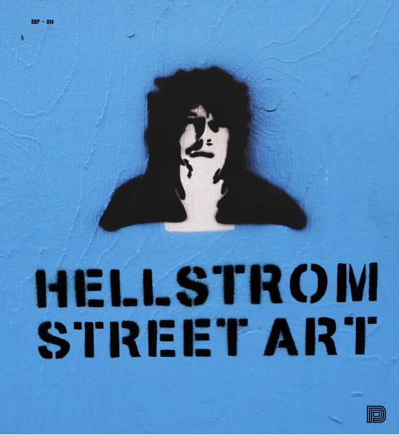 HELLSTROM STREET ART - DELUXE BOK - Numrerad box med bok, tygväska med tryck och signerat tryck.